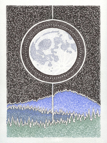 Moon Beam ~ Prints