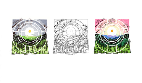 Sunny Side Up - 3 in 1 - Signed and Numbered Prints