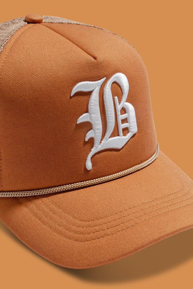 B HAT LIGHT BROWN