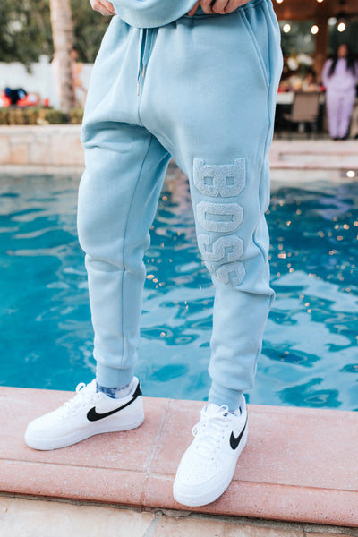 BOSS PANTS BLUE