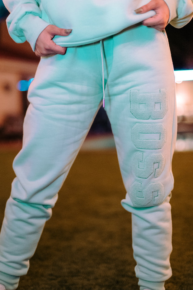 BOSS PANTS MINT GREEN