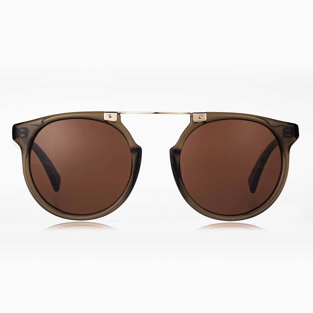 Owl Eyes - Olive Green Sunglasses