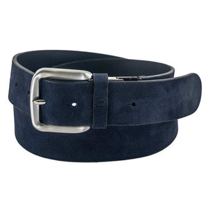 Flybelt - 40mm Stitched, Full Grain Italian Suede Jean Belt Belts