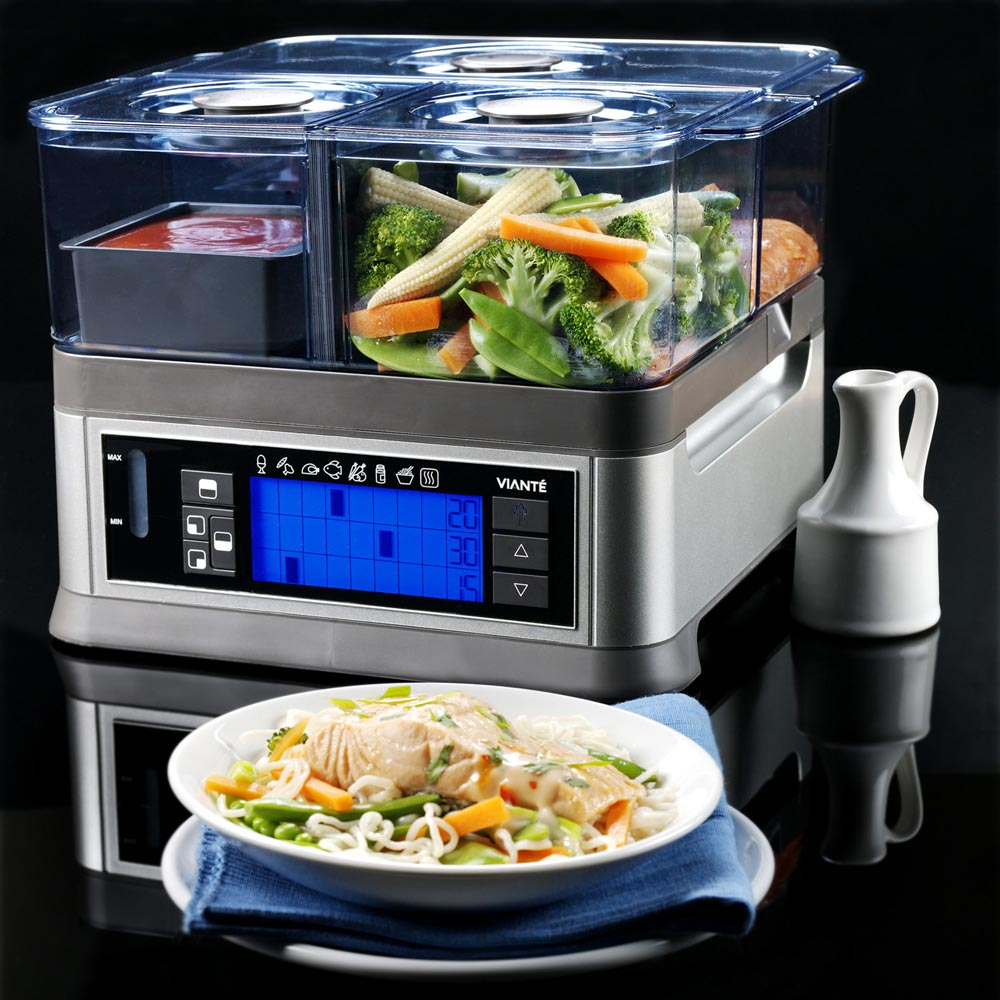 Intellisteam Smart Food Steamer  Smart Home
