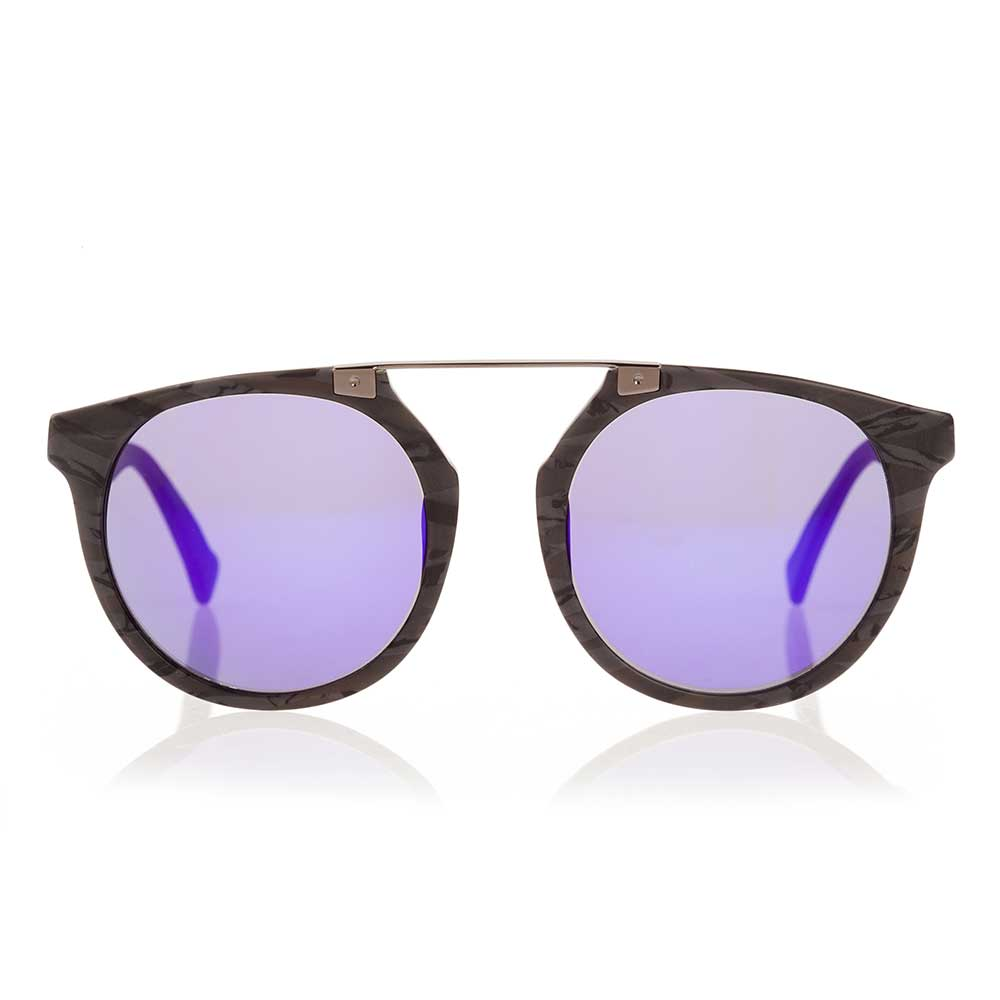 Owl Eyes II - Stone Black Sunglasses