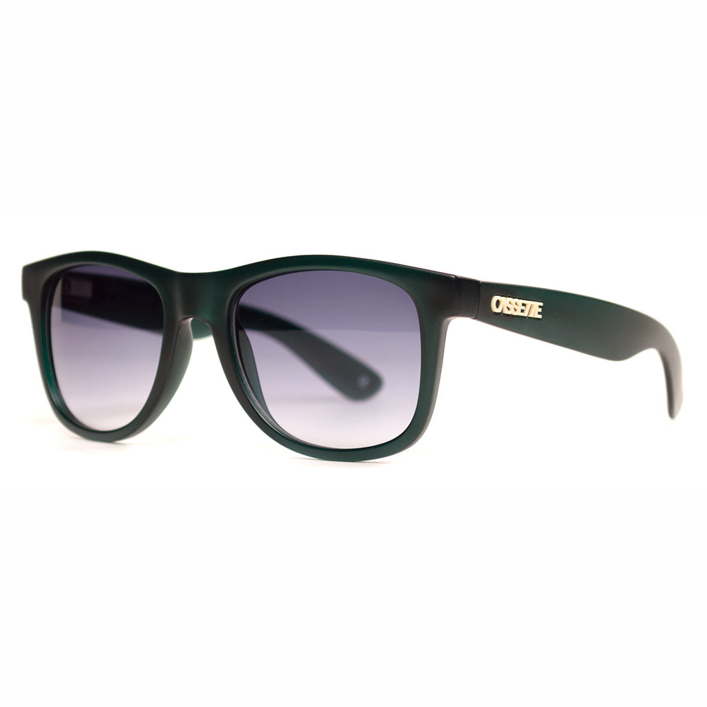 Frosted Seagreen/Smoke Gradient Lens Sunglasses
