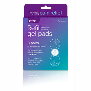 iTENS Wing Hydro Gel Pads Electrotherapy