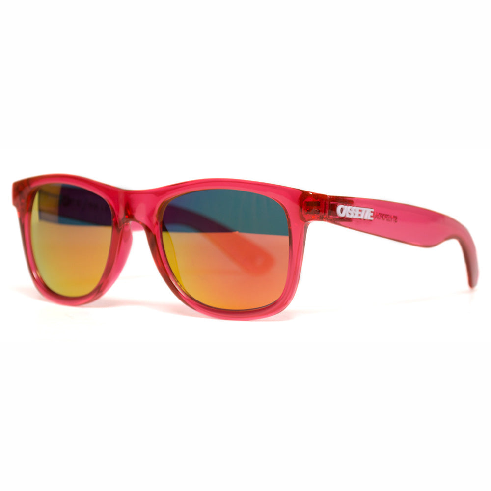Citrus Red/Fire Mirror Lens Sunglasses