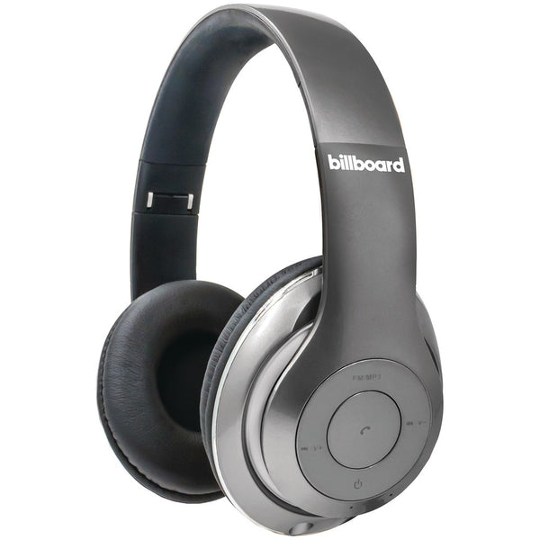 21d4c0a10ab Billboard BB485 Over-Ear Bluetooth(R) Foldable Headphones with Microphone  (Silver) Billboard BB485 Over-Ear Bluetooth(R) Foldable Headphones with  Microphone ...