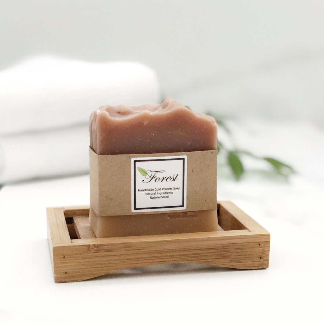 Handmade Natural Cinnamon Lemongrass Soap