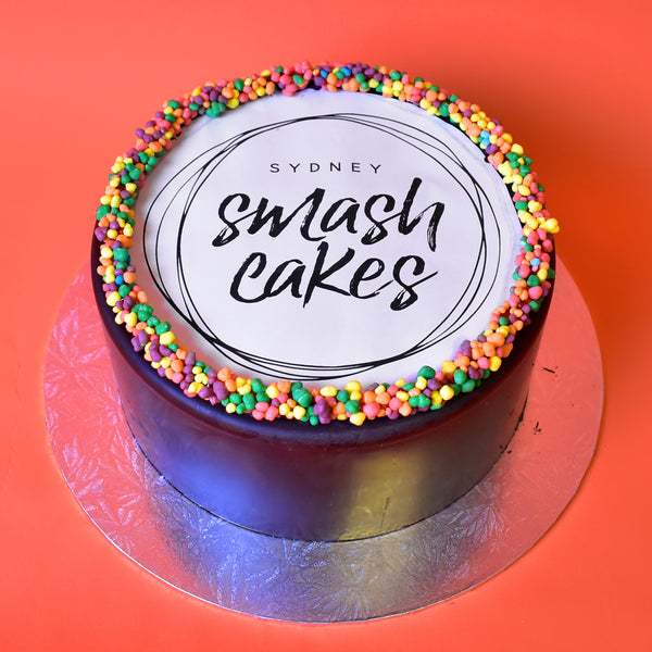 Custom Edible Print Smash Cake