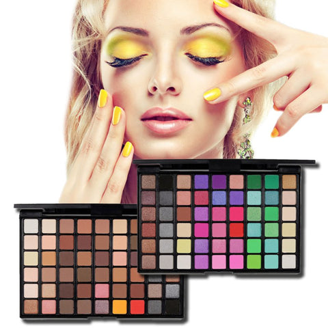 Shimmering/Smoky Earth Color Eyeshadow Palette Makeup Kit