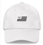 Made In USA White Dad Hat-MadeInBrand