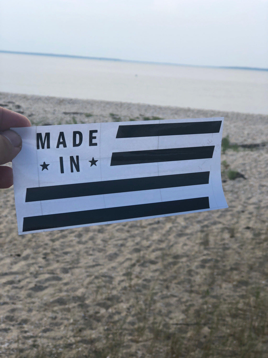 Made In Brand American Car & Laptop Sticker-MadeInBrand