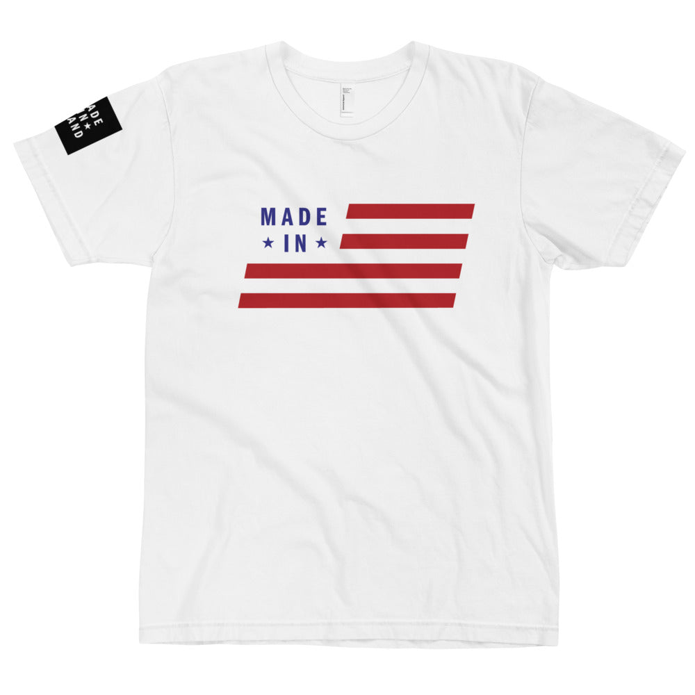 Red White and Blue Tee