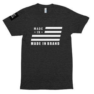 Made In USA Black Tri-Blend Tee
