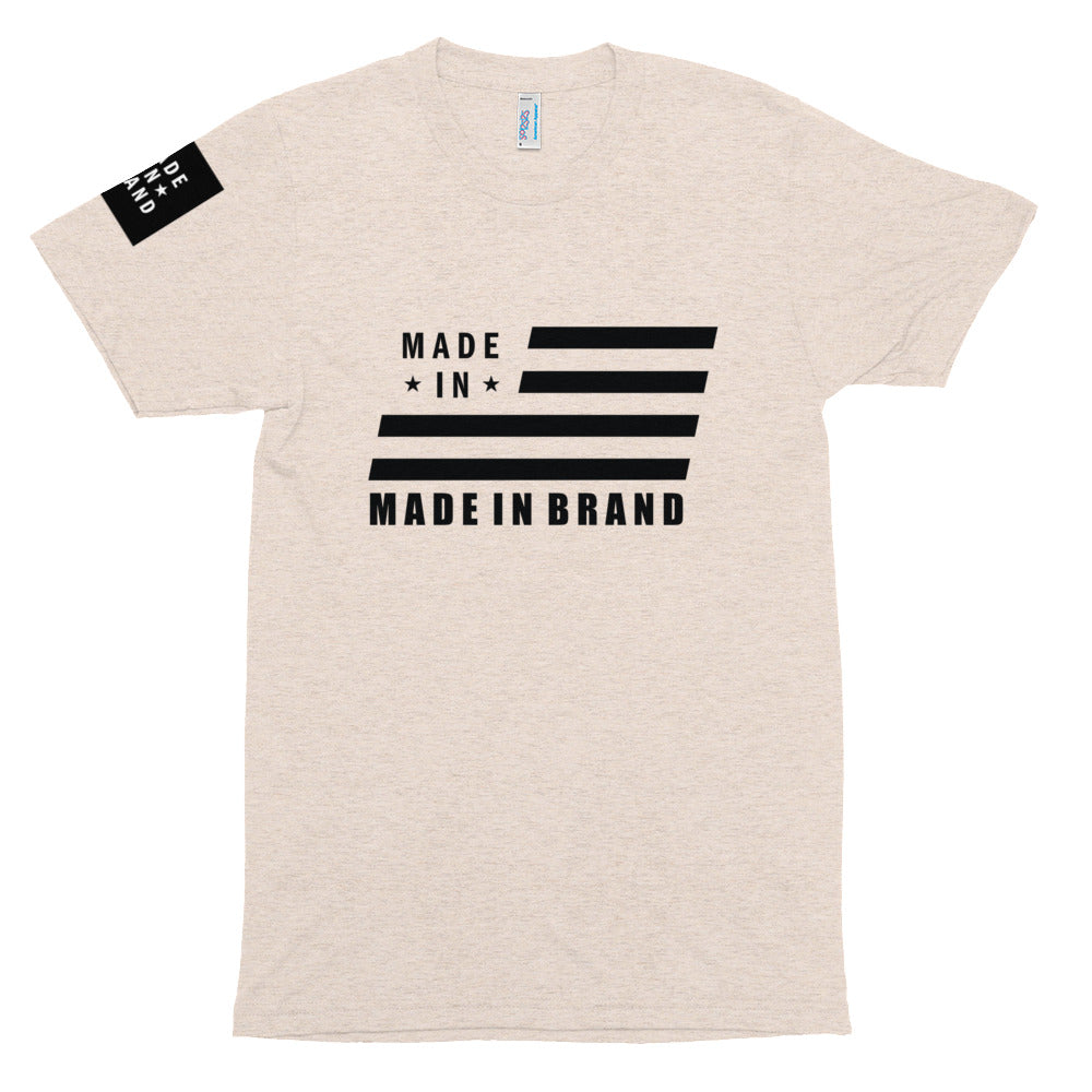 Made in USA Sand Tri-Blend Tee