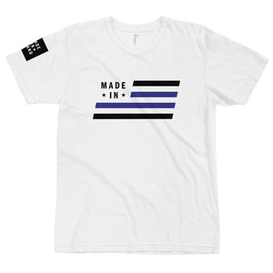 Thin Blue Line T-Shirt Tee