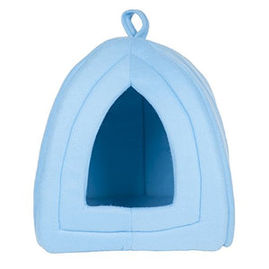 Cozy Kitty Tent Igloo Plush Enclosed Cat Bed - Kaulana Pets