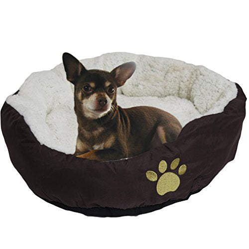 Soft Bolster Pet Bed dog bed  Kaulana Pets