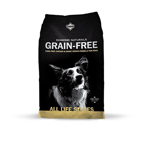 Diamond Naturals Grain Free Real Meat Recipe Premium Dry Dog Food With Real Cage Free Chicken 28Lb