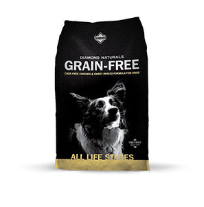 Diamond Naturals Grain Free Real Meat Recipe Premium Dry Dog Food With Real Cage Free Chicken 28Lb - Kaulana Pets