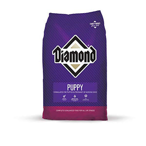 Diamond Premium Recipe Complete And Balanced Dry Dog Food For Growing Puppies 20Lb - Kaulana Pets
