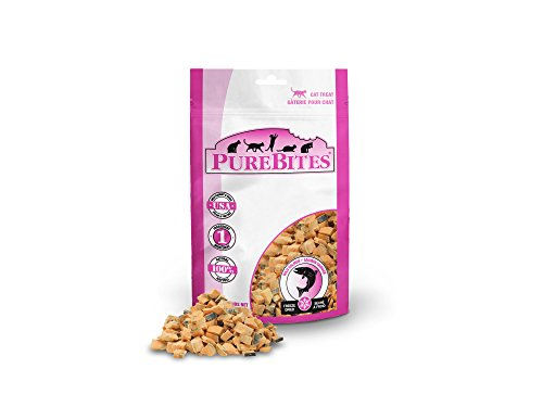 PureBites Salmon for Cats, 0.92oz / 26g - Value Size, 14 Pack - Kaulana Pets
