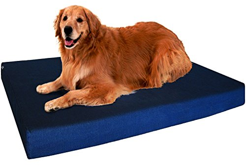 Extra Large Orthopedic Memory Foam Dog Bed - Kaulana Pets