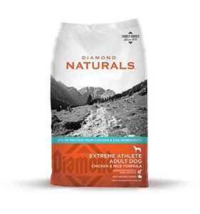 Diamond Naturals Extreme Athlete Real Meat Recipe High Protein Dry Dog Food With Real Cage Free Chicken Protein 40Lb - Kaulana Pets