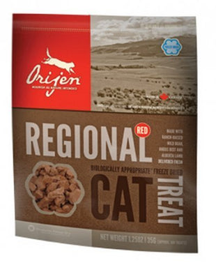 Orijen Orijen Cat Treats Freeze Dried Regional Red, 1.25 oz cat treats  Kaulana Pets