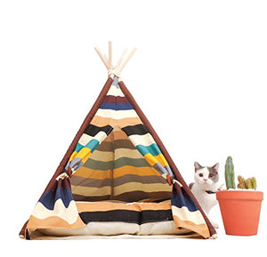 Little Dove Pet Teepee Dog & Cat Bed   Kaulana Pets