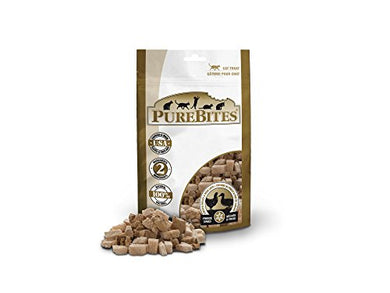 PureBites Chicken Breast & Duck for Cats, 1.12oz / 32 g- Value Size cat treats  Kaulana Pets