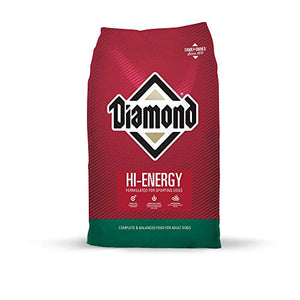 Diamond Premium Recipe Hi-Energy Complete And Balanced Dry Dog Food For Sport Dog, 50Lb