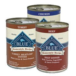 Blue Buffalo Homestyle Canned Variety Pack Dog Food (Beef, Turkey, Chicken) 12pack/ 12.5 oz - Kaulana Pets