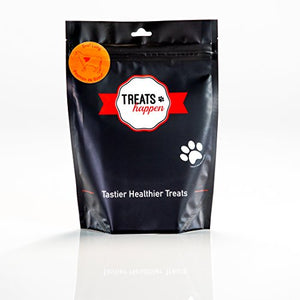 Treats Happen Dehydrated Beef Lung 4oz (90 portions) - Natural Grain Free Single Ingredient Dog Treat for Training (1-Bag) - Kaulana Pets