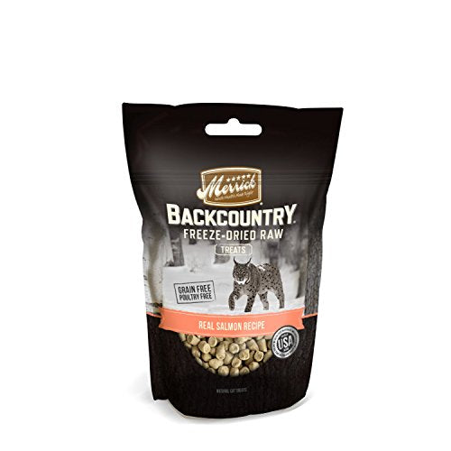Merrick Backcountry Real Salmon Recipe Freeze-Dried Raw Cat Treats, 1 Oz. - Kaulana Pets