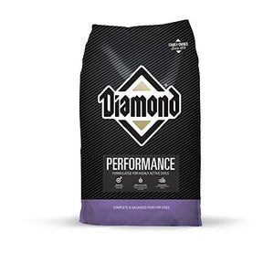 Diamond Premium Recipe Performance Complete And Balanced Dry Dog Food For A Hard Working Dog 40Lb
