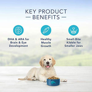 Blue Buffalo Life Protection Formula Puppy Dog Food – Natural Dry Dog Food for Puppies – Lamb and Oatmeal – 30 lb. Bag - Kaulana Pets