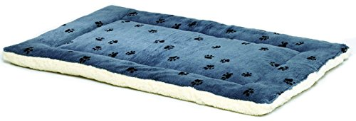 Reversible Paw Print Pet Bed - Kaulana Pets