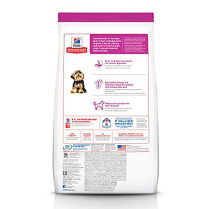 Hill's Science Diet Dry Dog Food, Adult, Small Paws for Small Breeds, Lamb Meal & Brown Rice Recipe, 4.5 lb Bag - Kaulana Pets