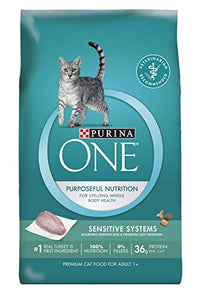 Purina ONE Sensitive Systems Adult Premium Cat Food - Kaulana Pets