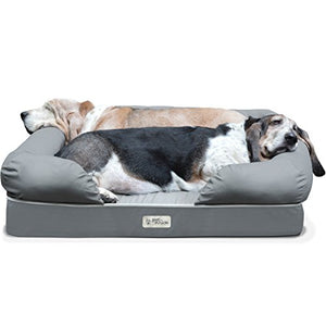 "4"" Memory Foam Dog Bed - Kaulana Pets"