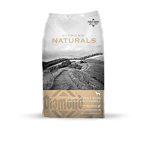Diamond Naturals Light Real Meat Recipe Natural Dry Dog Food To Help Support Weight Management With Real Pasture Raised Lamb Protein 30Lb - Kaulana Pets