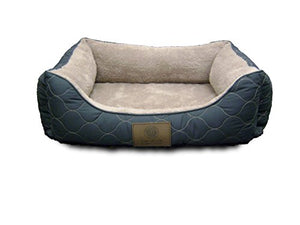 American Kennel Club Orthopedic Circle Stitch Cuddler Pet Bed - Kaulana Pets