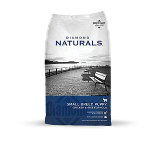 Diamond Naturals Small Breed Puppy Real Chicken Recipe High Protein Dry Dog Food - Kaulana Pets