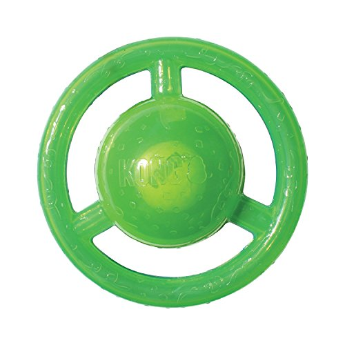 KONG Jumbler Disc Dog Toy, Medium/Large