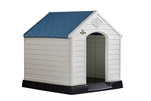 Confidence Pet Waterproof Plastic Dog Kennel Outdoor Winter House (Extra Large) - Kaulana Pets