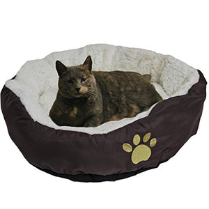 Soft Bolster Pet Bed - Kaulana Pets