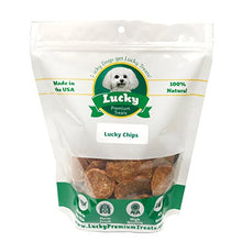 Lucky Premium Treats Chicken Lucky Chips Dog Treats - 98% Fat-Free Restaurant Quality Chicken Breast Treats for Dogs - Kaulana Pets